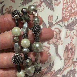 Lia Sophia Katie stretch bracelet